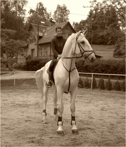 s Ergouškem, květěn 2007
